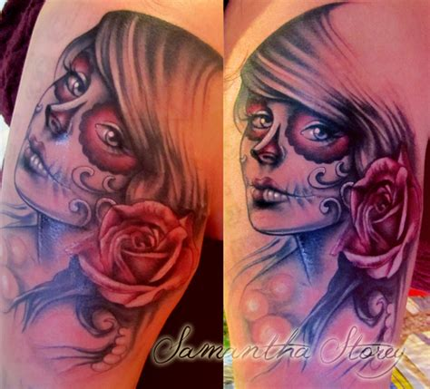 tattoo nightmares day of the dead day of the dead tattoo by illogan on deviantart