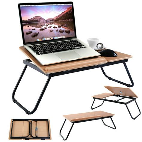 Portable Standing Laptop Desk by Portable Foldable Laptop Notebook Pc Desk Table Adjustable