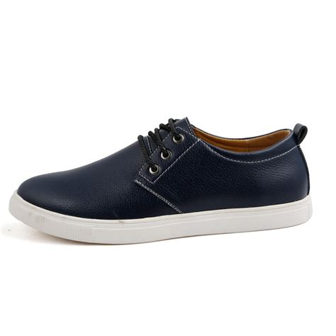 fashion flats shoes leather fashion flats shoes solid skateboard sneakers