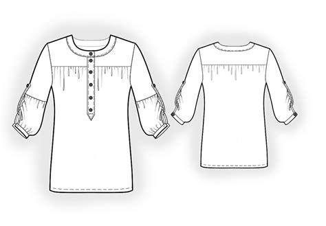 blouse pattern video download chiffon blouse sewing pattern 4013 made to measure