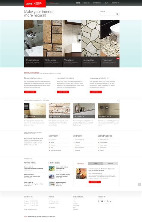 joomla template design software minimalist interior design joomla template 44384