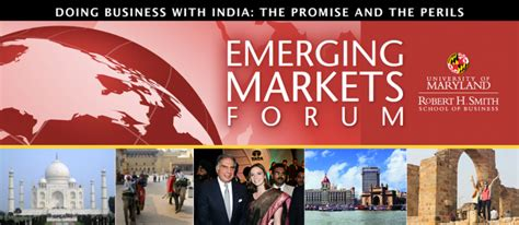 Mba Emerging Markets by Emerging Markets Forum Robert H Smith School Of
