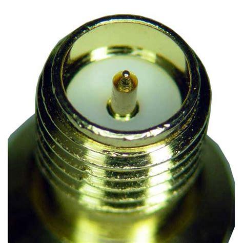 Conector Rp Sma Chasis vista de microscopio de los conectores usados