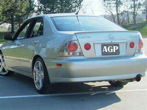 lexus hatch 2005 painted trunk deck lip spoiler lexus is 200 m3 type is 300