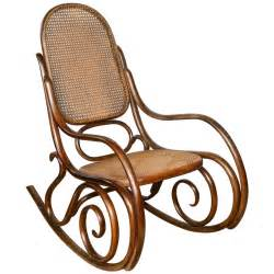 Antique Rocking Chair Value Vintage Thonet Bentwood Rocking Chair At 1stdibs