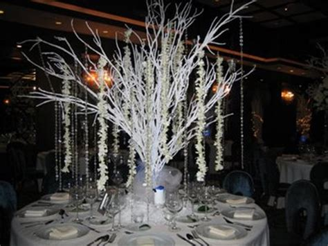 winter wedding tree centerpieces diy centerpieces the do it yourself s