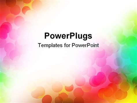 Colourful Powerpoint Backgrounds Hooseki Info Rainbow Powerpoint Template Free