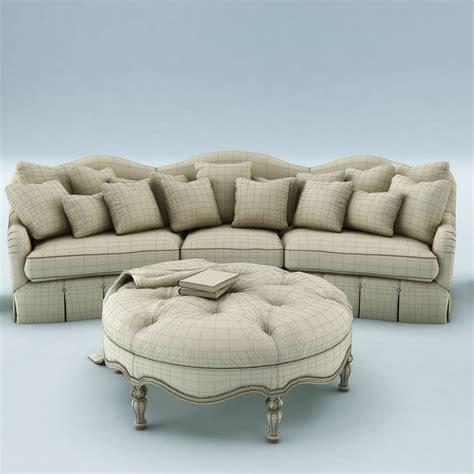 sofa set models sofa set 024 3d model max obj 3ds fbx cgtrader