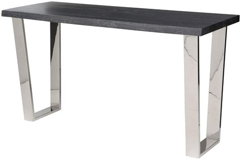 grey wood console table versailles oxidized grey wood console table hgsr339 nuevo