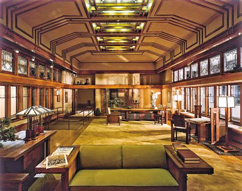 the metropolitan room is a discovery and development of el by frank lloyd wright like success