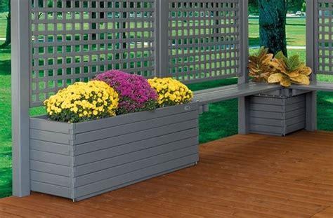 fioriere in alluminio per esterni fioriere da esterno vasi e fioriere fioriere per