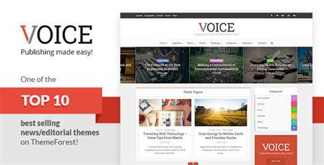 themeforest voice voice v2 3 responsive clean news magazine wordpress