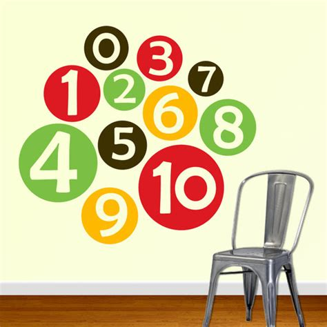 number wall decals giveaways archives scissors spatulas