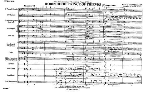 theme music robin hood robin hood prince of thieves by scott b j w pepper