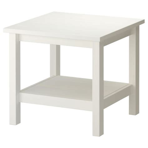 Ikea White Side Table Hemnes Side Table White Stain White
