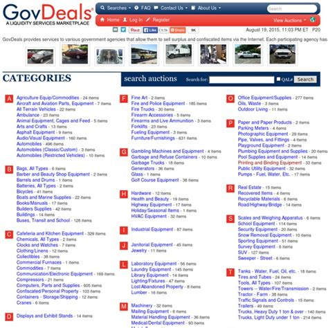 good deals government auctions
