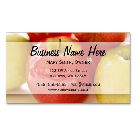 apples to apples card template 253 best images about dietitian business cards on