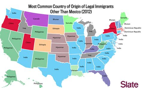 us map states jpg 2 immigration map what are the immigrant groups in