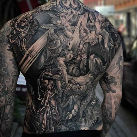 religious back tattoos back religious best ideas gallery