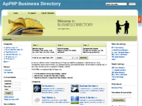 company directory template x light template apphp businessdirectory x