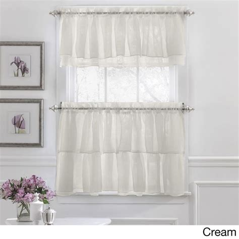 purple and tan curtains elegant crushed voile ruffle blue white pink purple beige