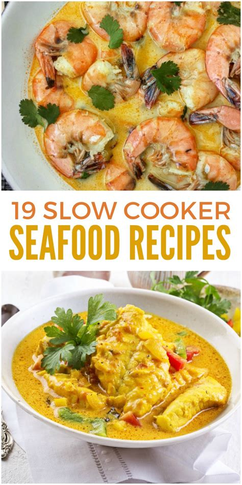 25 slow cooker recipes to bring to your next potluck 19 slow cooker seafood recipes you don t want to miss