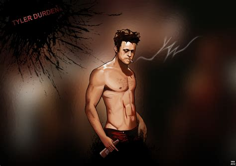 tyler durden hairstyle tyler durden short spiky haircut male models picture