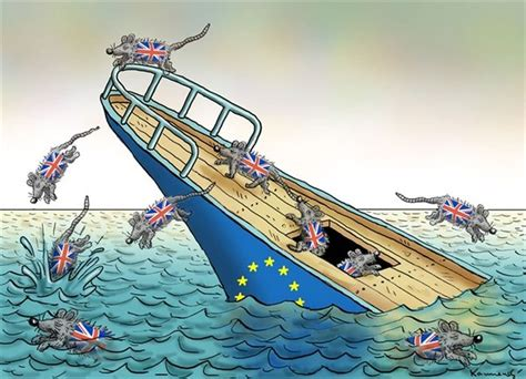 cartoon brexit boat brexit the memes bruce on politics