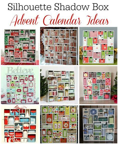 how to make an advent calendar box silhouette shadow box advent calendar unoriginal