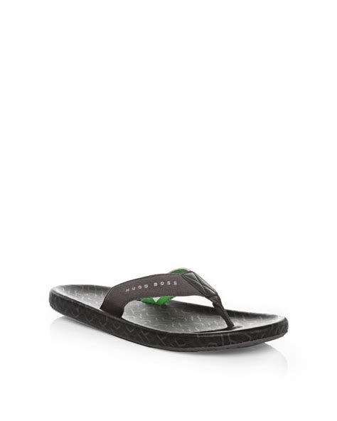 toe separator sandals green toe separator sandals with logo straps