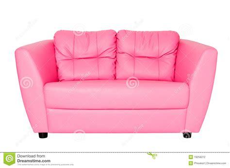 Pink Settee Pink Sofa Stock Photography Image 19258272