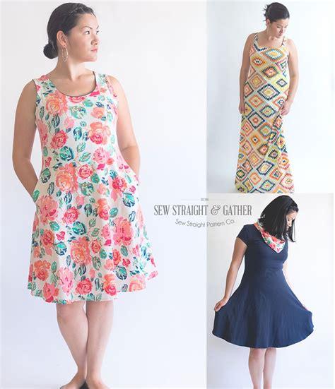 dress pattern ladies the women s uptown downtown dress pattern sew straight