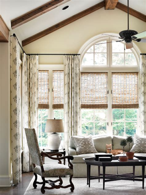 curtains for palladian windows window treatments for difficult windows what you must