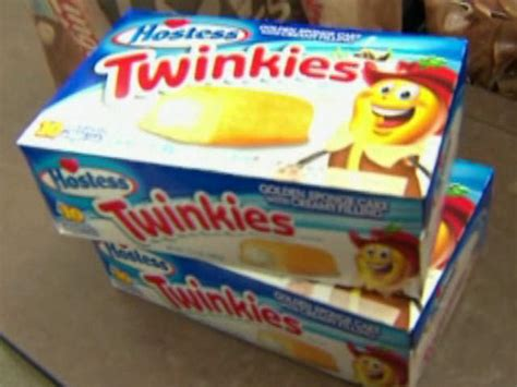Twinkies Shelf by Hostess Brands Says New Twinkies Will A Shelf Of