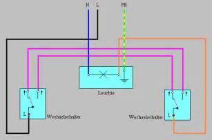 le mit bewegungsmelder anklemmen wechselschaltung schaltplan wechselschaltung