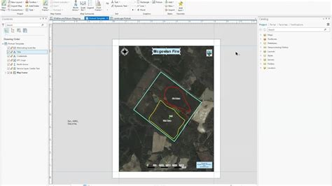 layout view in arcgis pro making a map with a custom layout in arcgis pro youtube