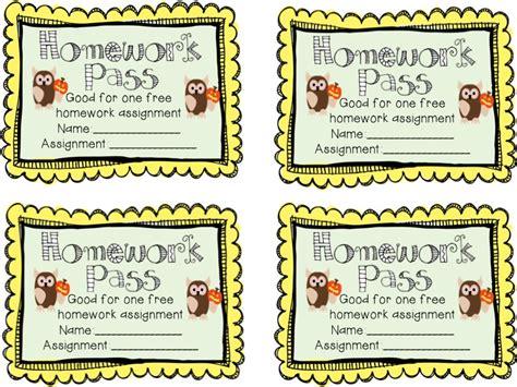 printable free homework pass halloween homework pass printable festival collections