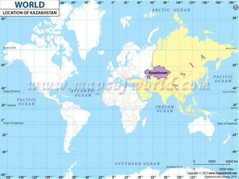 map world kazakhstan image gallery kazakhstan location