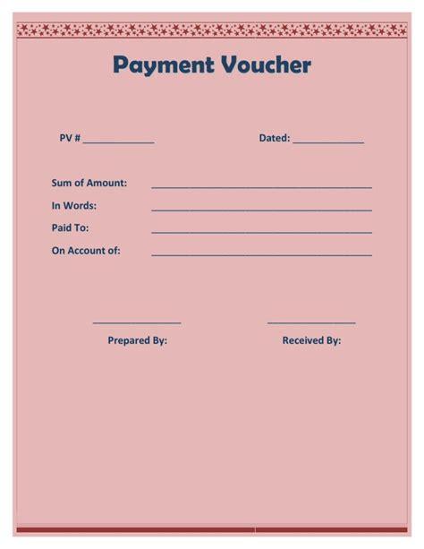 payment voucher template payment voucher template
