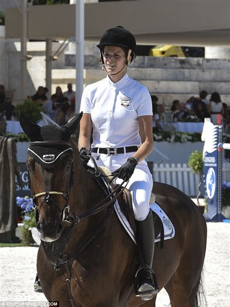 Athina The Last Onassis athina onassis appears at equestrian competition