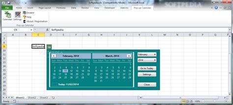 how to make a calendar popup in excel pop up excel calendar 2 12