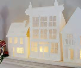 paper house template crooked house paper houses and towns templates and cut