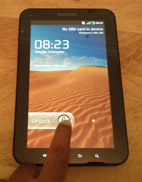 Samsung Tab 1 P1000 Bekas amar padhi november 2011