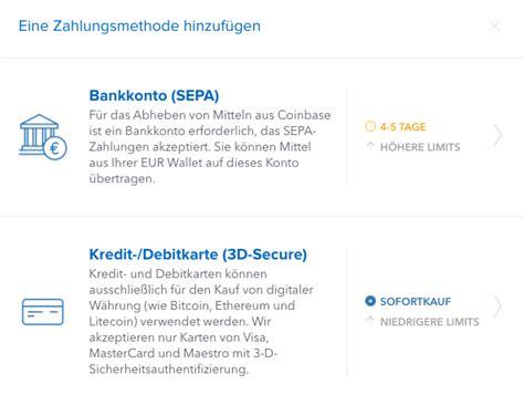 nachteile kreditkarte verkäufer coinbase konto erstellen mit in kryptow 228 hrungen
