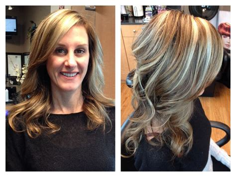 hairstyles light brown with blond highlights light brown hair with blonde highlights hair by melissa