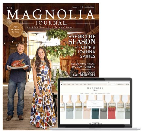joanna gaines magazine the magnolia journal magazinelaunch