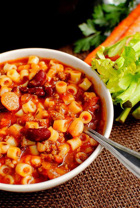 Olive Garden Pasta E Fagioli Soup Recipe by Copycat Olive Garden Pasta E Fagioli Soup Iowa Eats