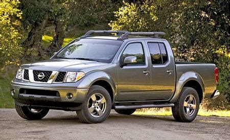 nissan frontier crew cab auto shows car and driver