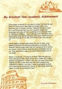 Academic Achievements Essay by Essay On Academic Achievement