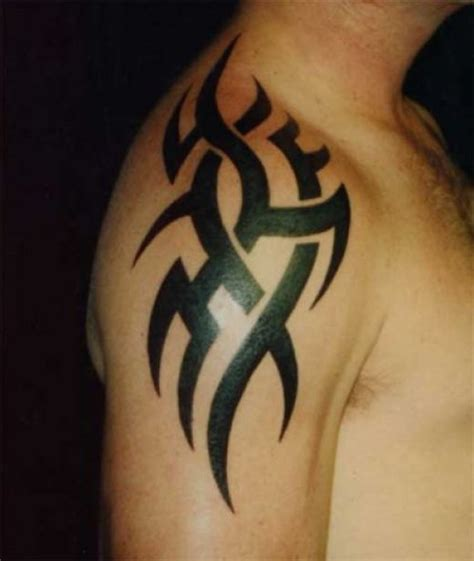 shoulder piece tattoos for men cool shoulder designs great tattoos